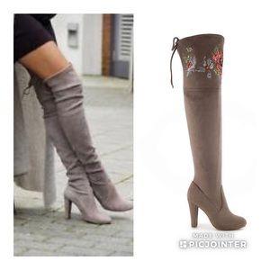 Zigi Soho Suede Over The Knee Boots 7.5